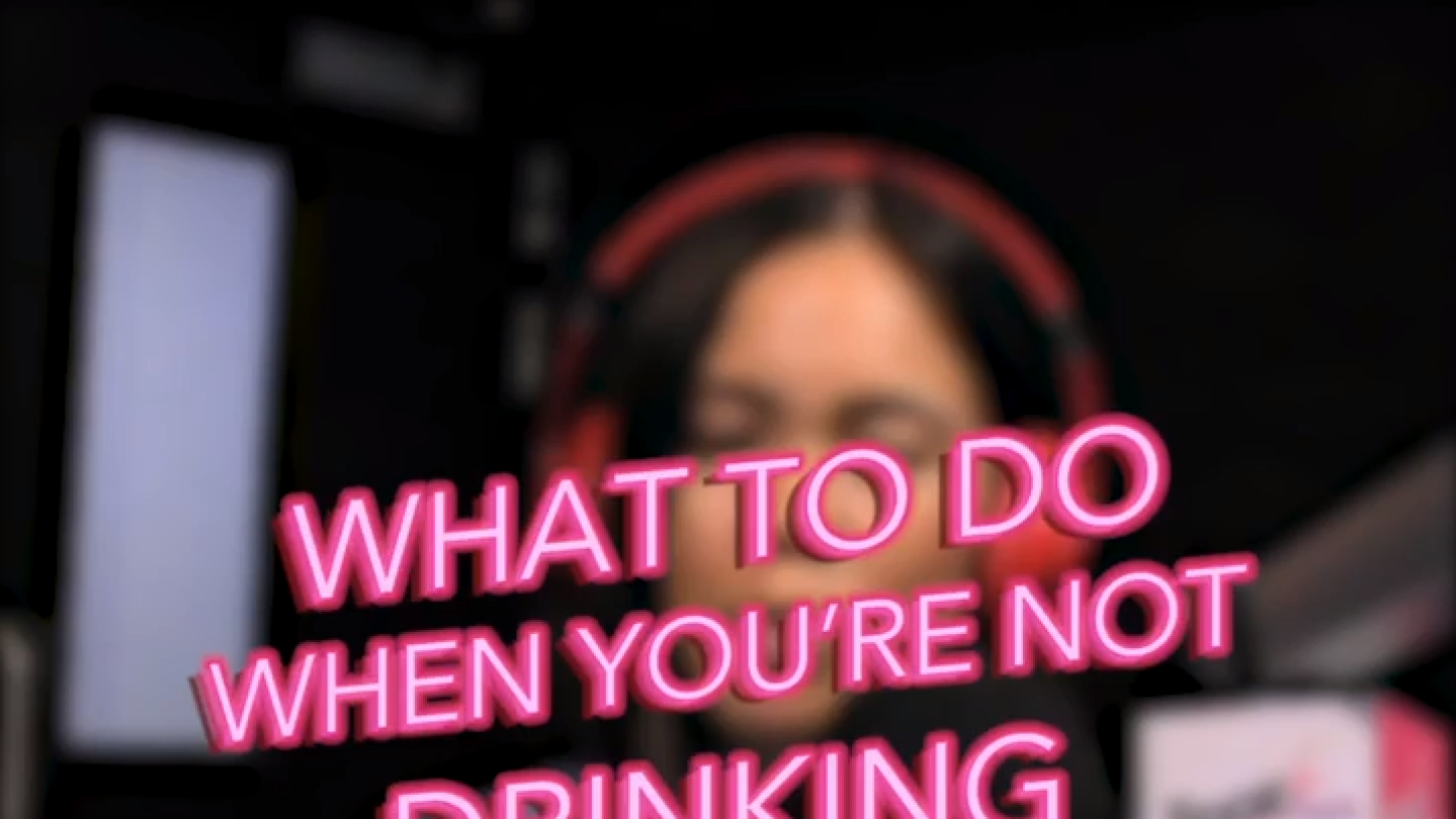 What To Do When You're Not Drinking