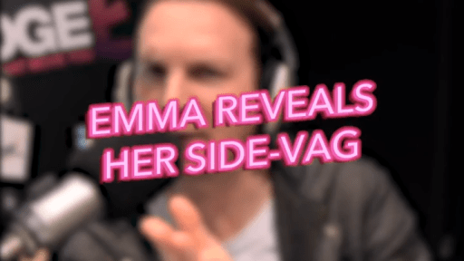 Emma Reveals Her Side-Vag