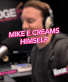 Mike E Creams Himself