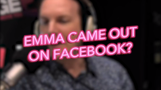 Emma Came Out On Facebook?