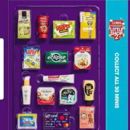 Coles Slammed Over New 'Little Shop' Promo