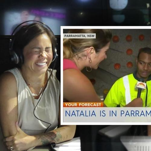 Mike E and Emma Chat To The Today Show 'Cone-Punching' Guy!