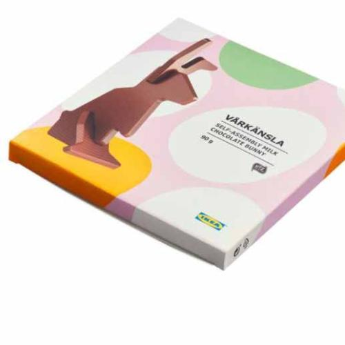 Ikea Now Sells A Flat-Pack Chocolate Easter Bunny