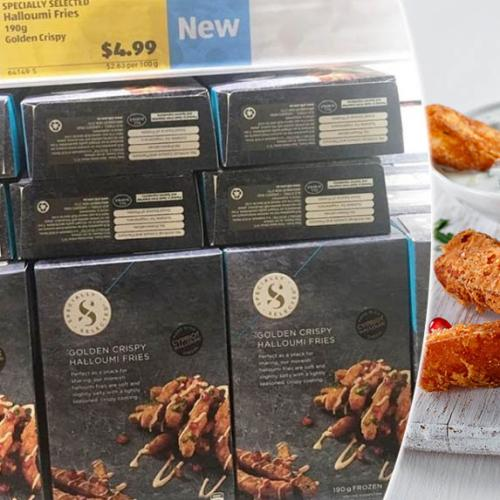ALDI's Halloumi Fries Are Now Available In Australia
