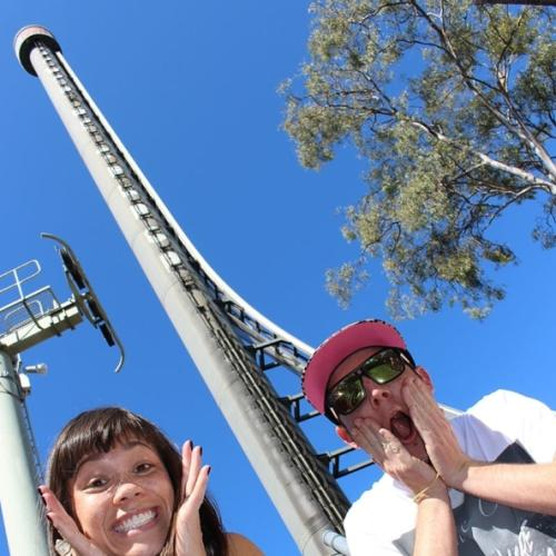 Mike E & Emma Experience Dreamworld and Whitewater World