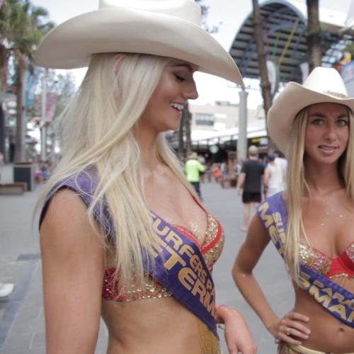 Mike E Tries His Single Guy Tips On Gold Coast Meter Maids