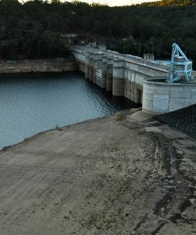 Sydney Dam Levels Drop Below 50 Per Cent