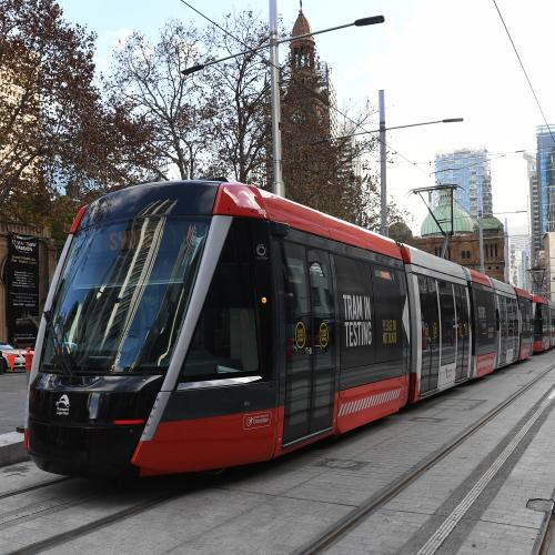 Daytime Sydney CBD Light Rail Trials Begin