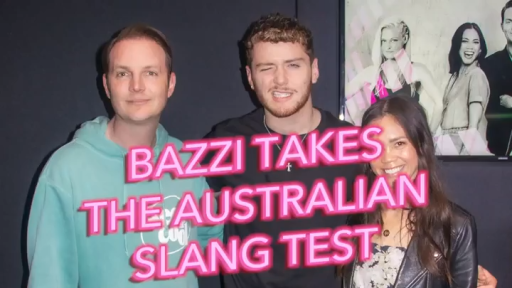 Bazzi Takes The Australian Slang Test