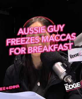 Aussie Guy Freezes Maccas For Breakfast?!