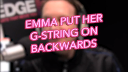 Emma Put Her G-String On Backwards