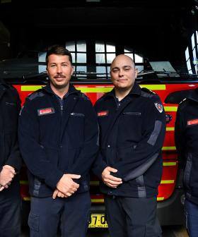 NSW Firefighters Honoured For Their Efforts During Sydney Stabbing