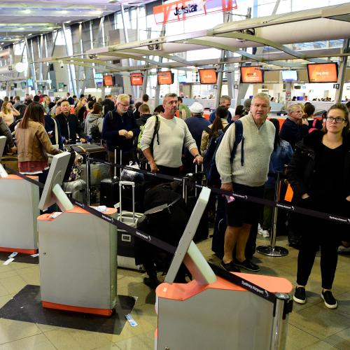 Flights Cancelled At Sydney Airport As Strong Winds Continue