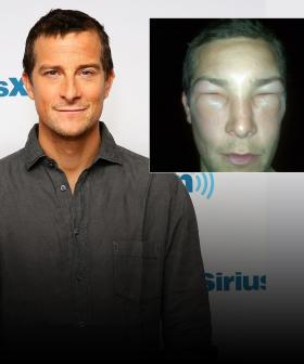 Bear Grylls Cops Near-Fatal Bee Sting