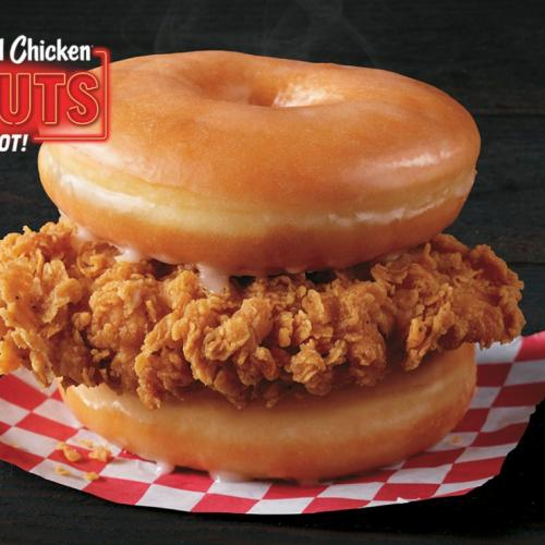 KFC Trials Fried Chicken In Glazed Donut Bun