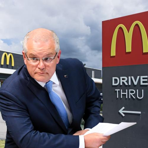 Scott Morrison Has Finally Addressed The Engadine Macca's Rumour