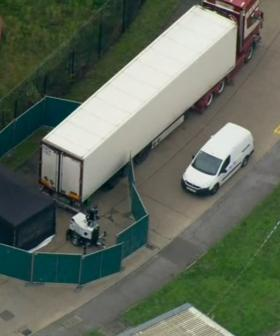 UK Cops Find 39 Bodies In Truck Container