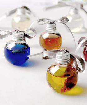 Boozy Christmas Baubles Exist, So Let's Put The Tree Up Now