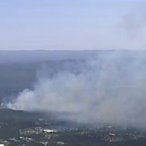 Out Of Control Bushfire Burning Close To 40 Homes In Sydney's North West