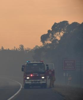 EMERGENCY WARNING: Dangerous Fires Burning In Western Sydney