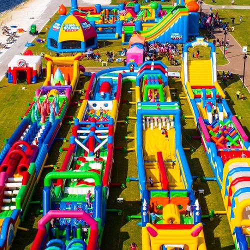 World's Largest Inflatable Bouncy Castle Is Coming To Sydney