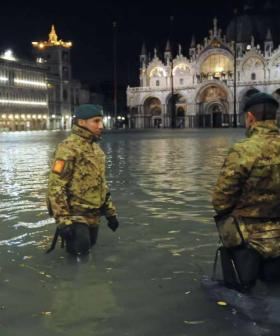 Highest Tide In 50 Years Hits Venice, Declared A Disaster