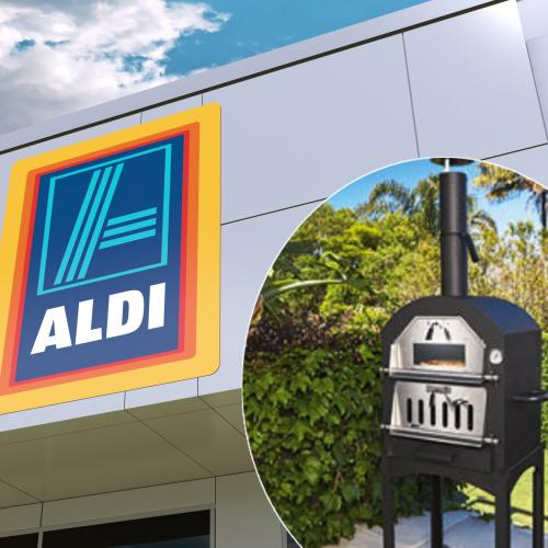 ALDI Is Selling A Woodfire Pizza Oven For Just $149