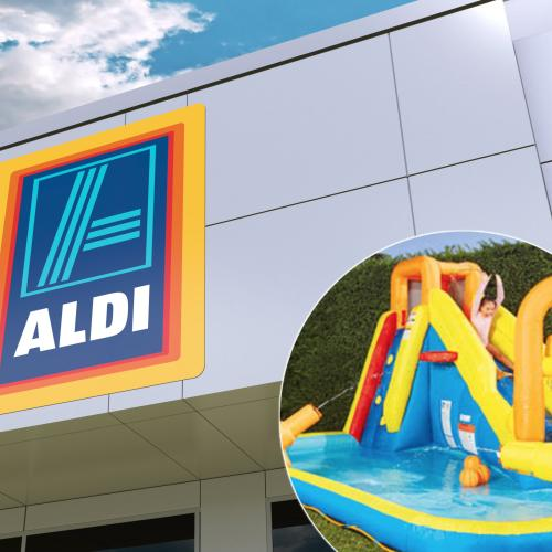 You Can Buy An Actual Inflatable Water Park From ALDI This Week