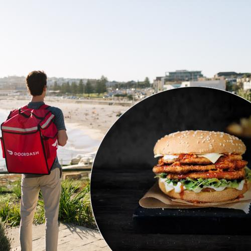 10,000 FREE Burgers On Offer Today As New Food Delivery Service Launches In Sydney