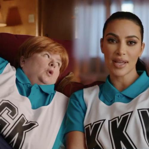 Kim Kardashian And Sharon Strzelecki Have Teamed Up For The Latest Uber Eats Ad