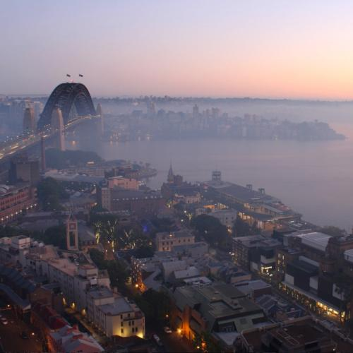 Air Quality Warning Issued For Sydney As Thick Smoke Blankets The City