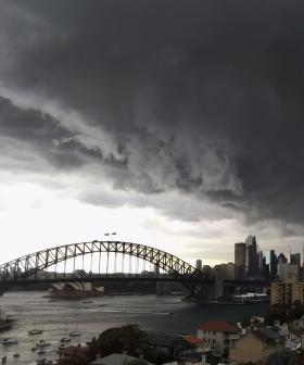 Severe Thunderstorm Warning For NSW Metropolitan Area