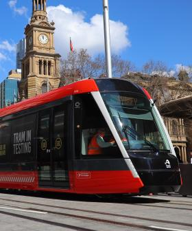 Sydney's Trams To Start On December 14