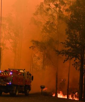 Firies Race To Contain Bushfires As Temperatures Set To Soar Over 40 Degrees