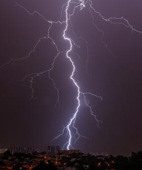 Two People Struck By Lightning In Sydney