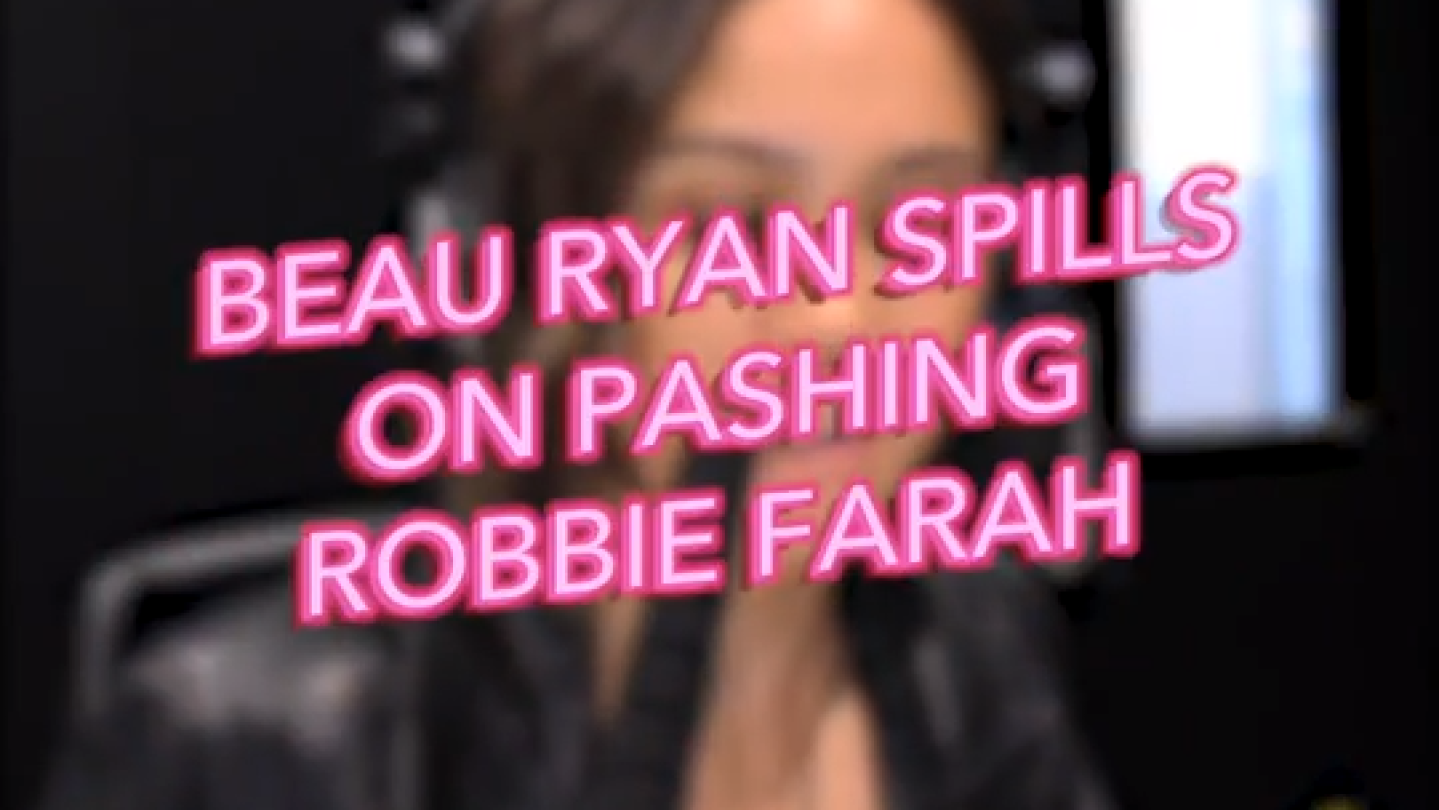 Beau Ryan Spills On Pashing Robbie Farah
