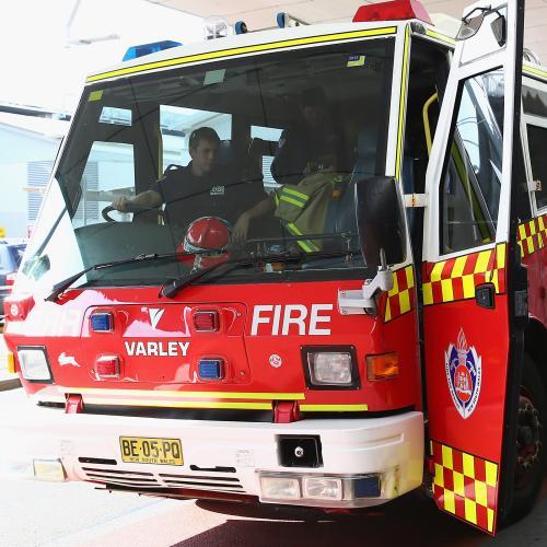 Fireworks Found At Sydney Stadium Blaze