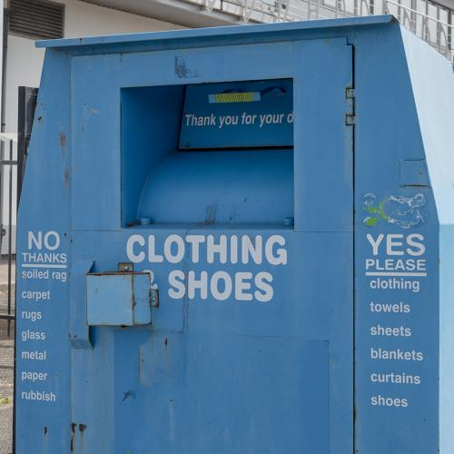 Woman Trapped In Clothing Donation Bin For Three Days