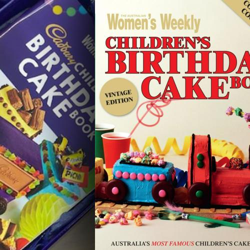 Iconic Aussie Children's Birthday Cake Cookbook Has Been Given A Reboot