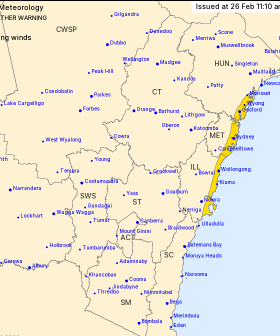 Look Out, Sydney: A Severe Weather Warning Has Been Issued