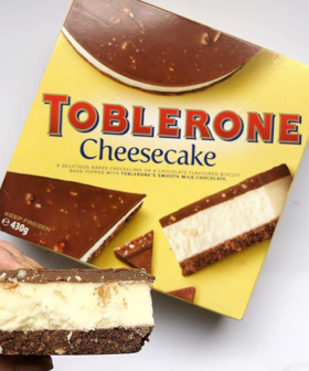 Frozen Toblerone Cheesecake Is Now A Thing & We're Searching Every Supermarket For It