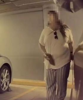 Woman Caught Red-Handed Keying Tesla At Shopping Centre In Sydney's West
