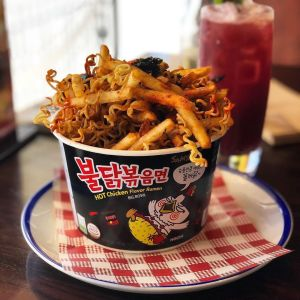 spicy ramen fries