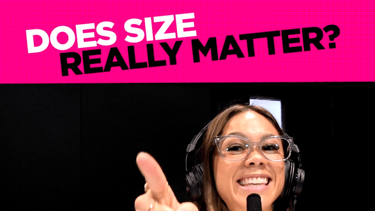 Does size really matter?🍆