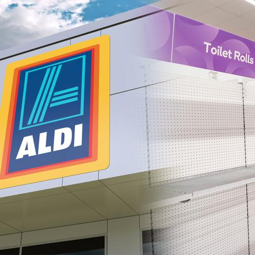 ALDI IS THE REAL MVP- Note Left To People Panic-Buying Toilet Paper Amid Coronavirus Outbreak