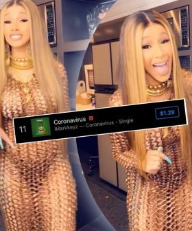 Some DJ Made A Remix Of Cardi B's Corona-rant and It's Topping Charts