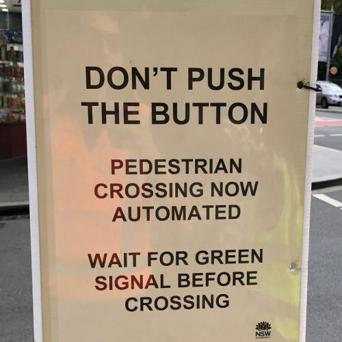 Automated Pedestrian Crossings Introduced In Sydney's CBD Amid Coronavirus Pandemic