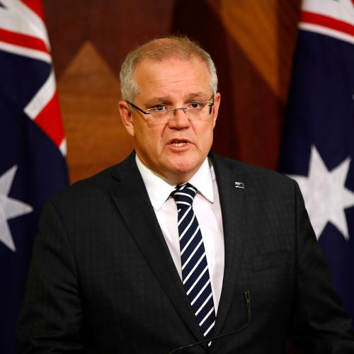 Prime Minister Scott Morrison Announces No Returning Passengers Will Be Allowed To Go Home For 14 Days