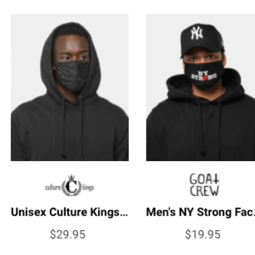 Culture Kings Are Selling Hypebeast Face Masks & They're Already SOLD OUT