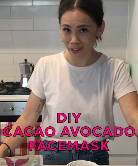 DIY Avocado Cacao Face Mask